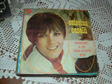 """CATERINA CASELLI """" INSIEME A TE NON CI STO PIU' ( Conte ) """" ITALY'68"""