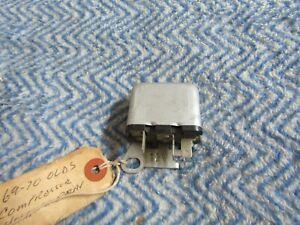 NOS 1969 1970 OLDSMOBILE CUTLASS 442 F85 TORONADO AIR CONDITIONING HOLD IN RELAY