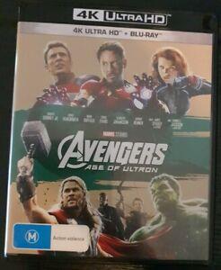 Avengers Age of Ultron 4K Ultra HD + Blu-ray (2 Disc Set)