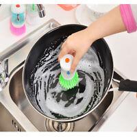 hydraulique brosse à vaisselle cuisine, nettoyage distributeur de savon liquide