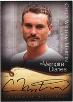 Vampire Diaries Season 1 Auto Autograph Card Chris William Martin A18