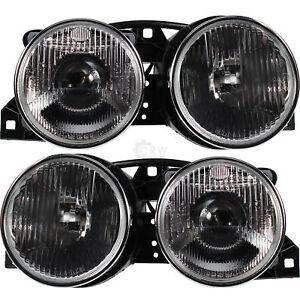 Halogen Scheinwerfer Set für BMW 3 (E30) Bj. 09.82-03.92 H1/H1 D4L