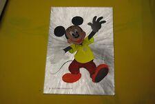 cp carte postale vintage  année 70 walt disney : mickey mouse