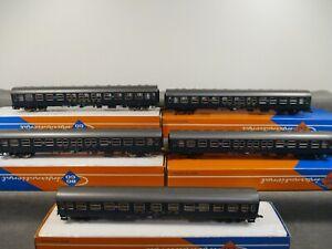 Roco AC H0 4282 Personenwagen-Set 5-teilig Schnellzugwagen Touropa in OVP Q168