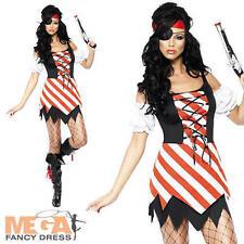 Smiffy's Women's Pirate Fancy Dress