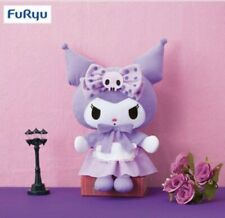 My Melody Girly Purple BIG Plush Kuromi FuRyu Japan