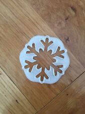 Christmas Snowflake cookie cutter
