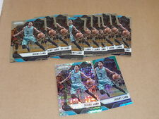 2016/17 Panini Prizm JEREMY LAMB LOT OF 12 HORNETS STARBURST GREEN REFRACTOR