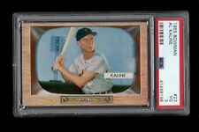 "1955 Bowman BB Card #023 Al ""Mr. Tiger"" Kaline Detroit Tigers PSA VG 3 !!"