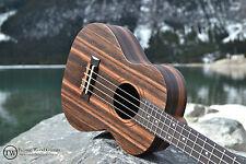 Tenor Ebony Ukulele - The Dorado by Twisted Wood Guitars w/gig bag