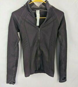 Fabletics Women's Sz S Delta Seamless Zip-Up Jacket Running Gym Purple