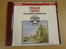 CD PHILIPS / VIVALDI - CONCERTI - I MUSICI - SAMPLER