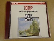 CD PHILIPS / VIVALDI - CONCERTI - I MUSICI - SAMPLER