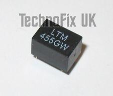 LTM455GW 9kHz wide 455kHz IF ceramic filter replaces CFWM455G ALFYM455G 3+2
