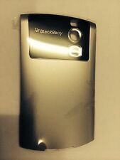 BlackBerry 8300 Curve Rear Battery Cover Door in Silver Original Part. Brand New