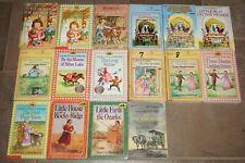 Lot of 16 Laura Ingalls Wilder Books Little House on the Prairie 1-9 Rocky Ridge