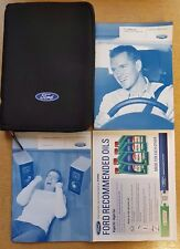 FORD FOCUS HATCHBACK & ESTATE HANDBOOK OWNERS MANUAL WALLET 2008-2011 PACK  !!!!