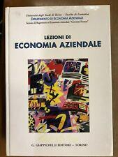 LEZIONI DI ECONOMIA AZIENDALE - GIAPPICHELLI, 1996