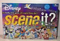 Disney Scene It 1st Edition DVD Game Mattel Games Family Fun Trivia Film Clips