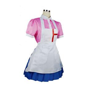 uk Dangan Ronpa 2 Danganronpa Mikan Tsumiki Dress Cosplay Costume Uniform Skirt
