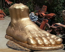 Sculpture David's Foot. Fragment Replica on Michelangelo's statue, Huge 82 cm!