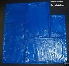 Royal Ashler Slate Decorative Concrete Cement Plaster Stamp RIGID mat w/handles