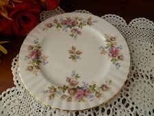 MOSS ROSE 210MM  ENTREE / SALAD PLATE  BY ROYAL ALBERT MADE IN  ENGLAND