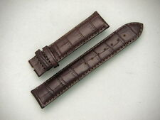 Original Brown Leather TISSOT PRC 200 Watch Strap Band Padded Stitched 19mm