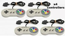 Super Famicom Controller x4 Official Nintendo Fully working works for SNES