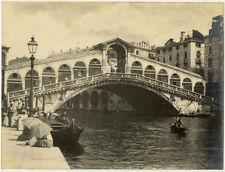 Lot 4 Photos Argentiques Venise Venezia Pictorialiste Pictorialisme 1901