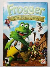 Konami Frogger The Great Quest PC CD Rom Computer Game (Complete) Free Shipping