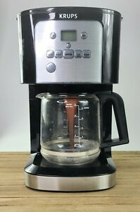 KRUPS 7211002967 EC321 Coffee Machine 12-Cup 60 fl ounce  Black