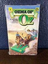 L. Frank Baum Ozma Of Oz (Book 3 Wizard of Oz) 1st Printing 1979 Del Rey Pb Book
