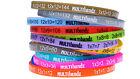 Multibandz Learning Times Table Wristband Maths Education Aid Bracelet 25 Pack