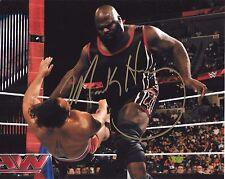 MARK HENRY WWE WORLDS STRONGEST MAN SIGNED AUTOGRAPH 8X10 PHOTO