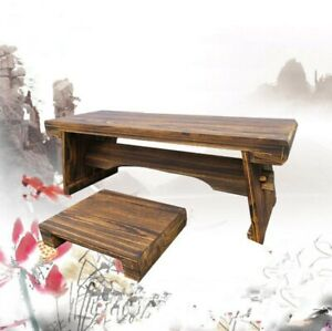 Low Tea Table With Stool Living Room Table  Low Table Wood Table Home Furniture