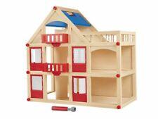 Puppenhaus Holzpuppenhaus Spiel Kinder Mädchen Stabile Holzkonstruktion 3-8Jahre