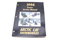 OEM Arctic Cat 2254-999 Service Manual '94 PUMA/PUMA DLX