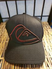 Quiksilver New Era 39Thirty Reform Stretch Fit Baseball Cap Hat  M/L