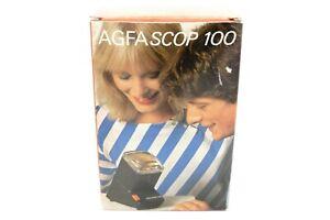 Agfascop 100 Diabetrachter 5x5 und 35mm OVP slide viewer / BOX