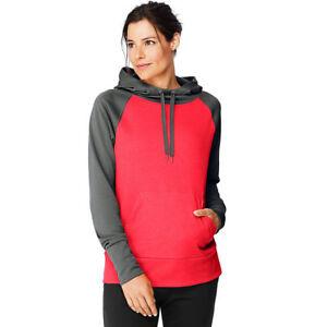 2 Hanes Sport™ Women's Performance Fleece Hoodies O4874