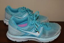 NIKE Pegasus 29  White & Teal Running Sneaker Size 9.0 Pre Owned