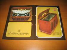 Original NSM Consul Classic ES 160 Music Box JUKEBOX FLYER BROCHURE