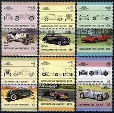St. Vincent Grenadines 1986, Cars, Automobiles, full set, 12v 6 pairs MNH