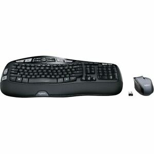 Logitech MK570 Comfort Wave Wireless Keyboard And Optical Mouse Very Good
