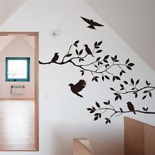 Black Birds Tree Branches Wall Sticker Decal Vinyl Home DIY Mural Art Decoration