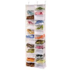 Shoe Rack Standing Shelf Organizer Space Saving Cabinet Furniture Tower 26 Pairs