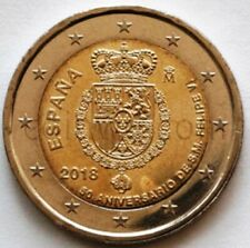 "Spain 2 euro 2018 /""50y Birth of Felipe VI/"" BiMetallic UNC"