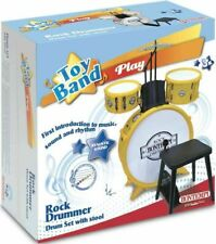 DRUM SET 4 PCS WITH STOOL brand new bontempi