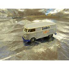 ** Brekina 32505 VW T1 Van White / Blue Linde's Scale 1:87 HO Scale